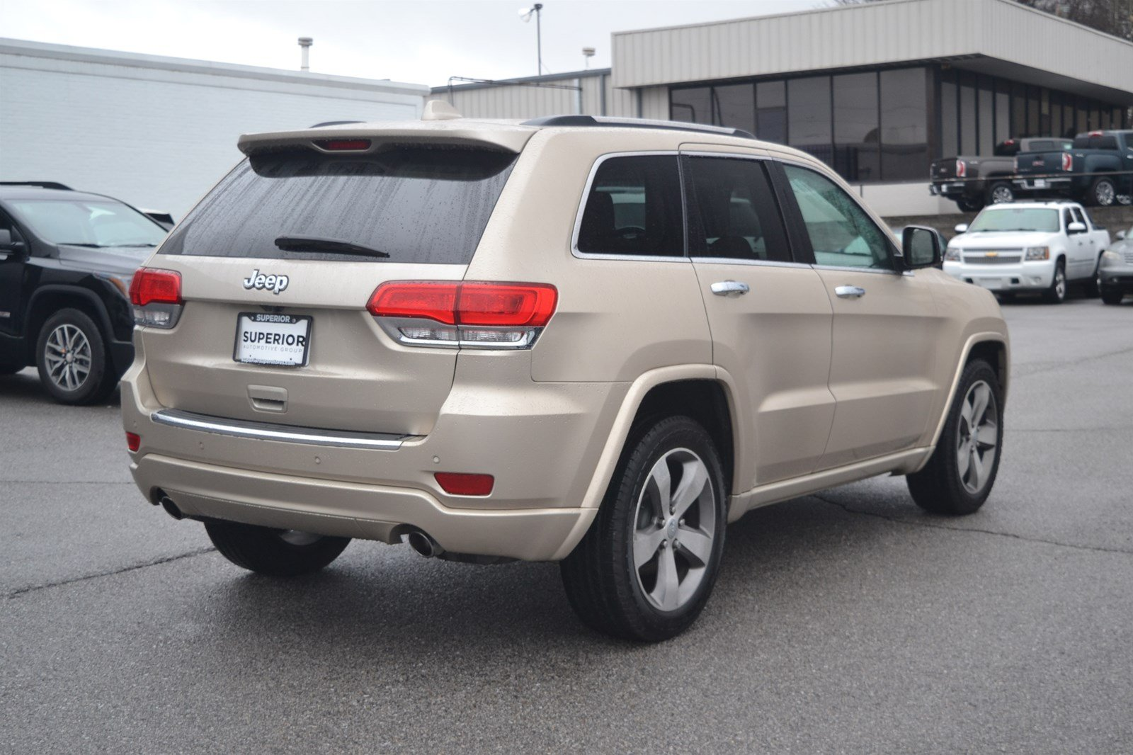 Pre Owned 2017 Jeep Grand Cherokee Overland
