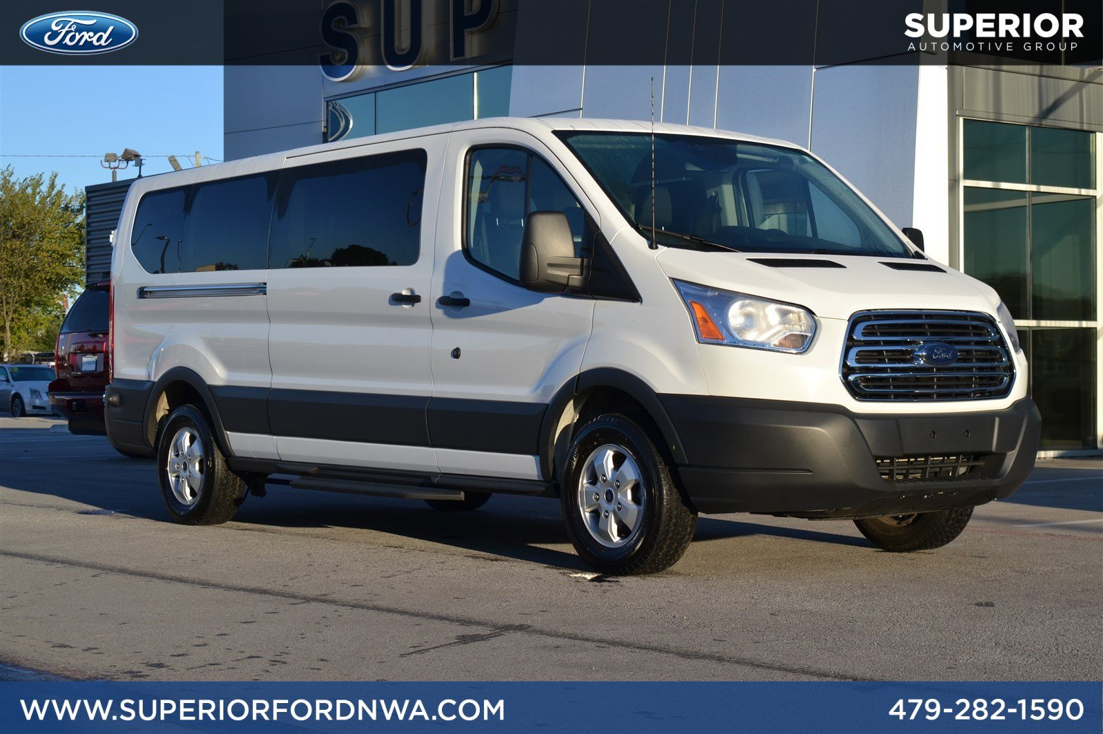 Certified pre owned 2018 ford transit passenger wagon xlt