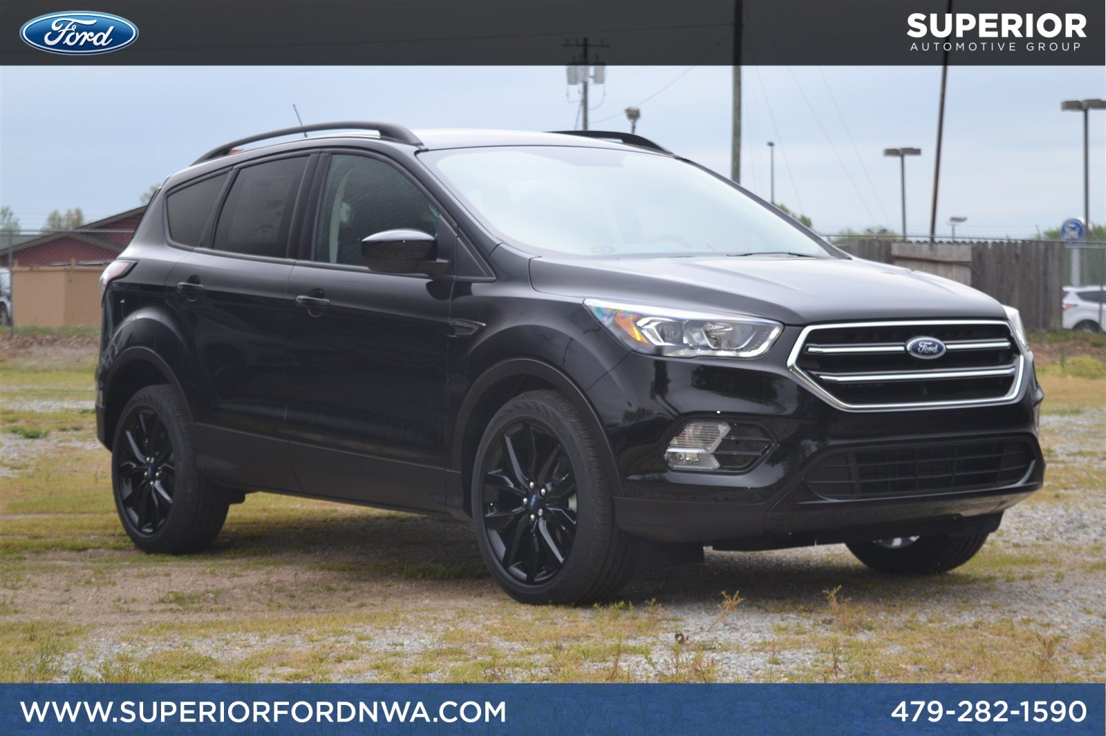 New 2018 Ford Escape SE