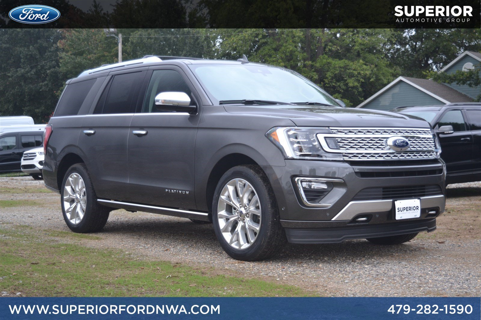 New 2018 ford expedition platinum 4wd