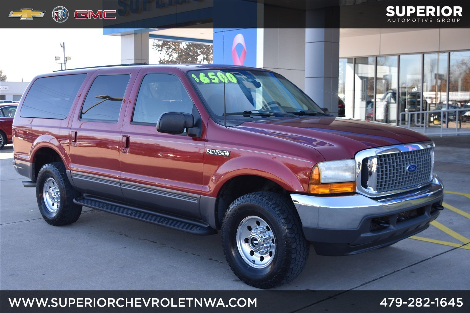 Pre owned 2001 ford excursion xlt 4wd