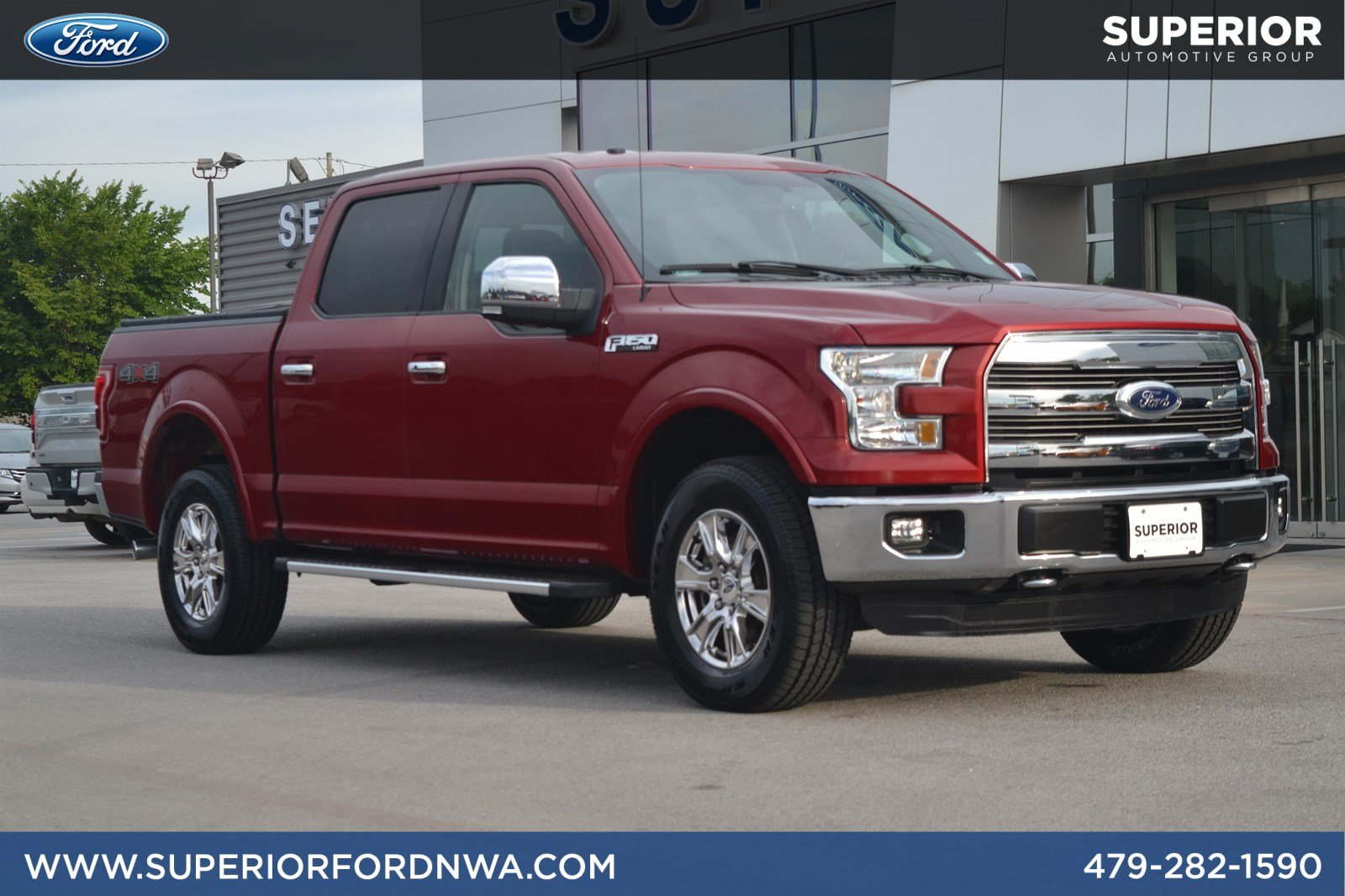 2015 Ford F 150 Regular Cab >> Pre Owned 2015 Ford F 150 Lariat 4wd Crew Cab Pickup In Fayetteville