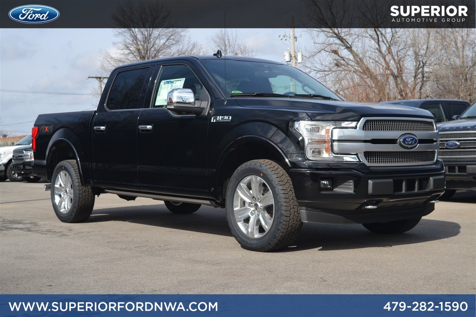 New 2018 ford f 150 platinum 4wd crew cab