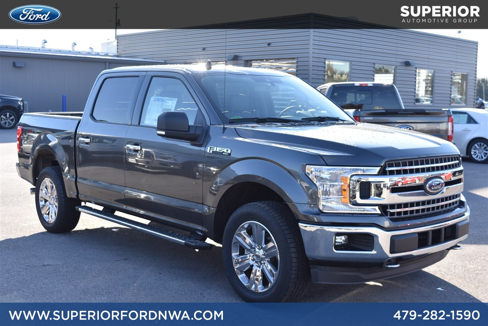 New 2019 Ford F 150 Xlt 4wd Crew Cab Crew Cab Pickup In Fayetteville