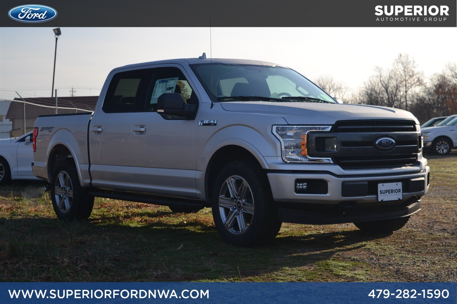 New 2018 ford f 150 xlt 4wd crew cab