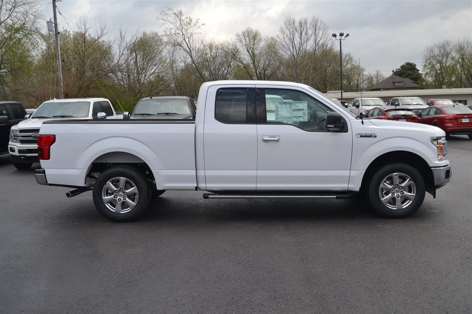 New 2018 ford f 150 xlt extended cab