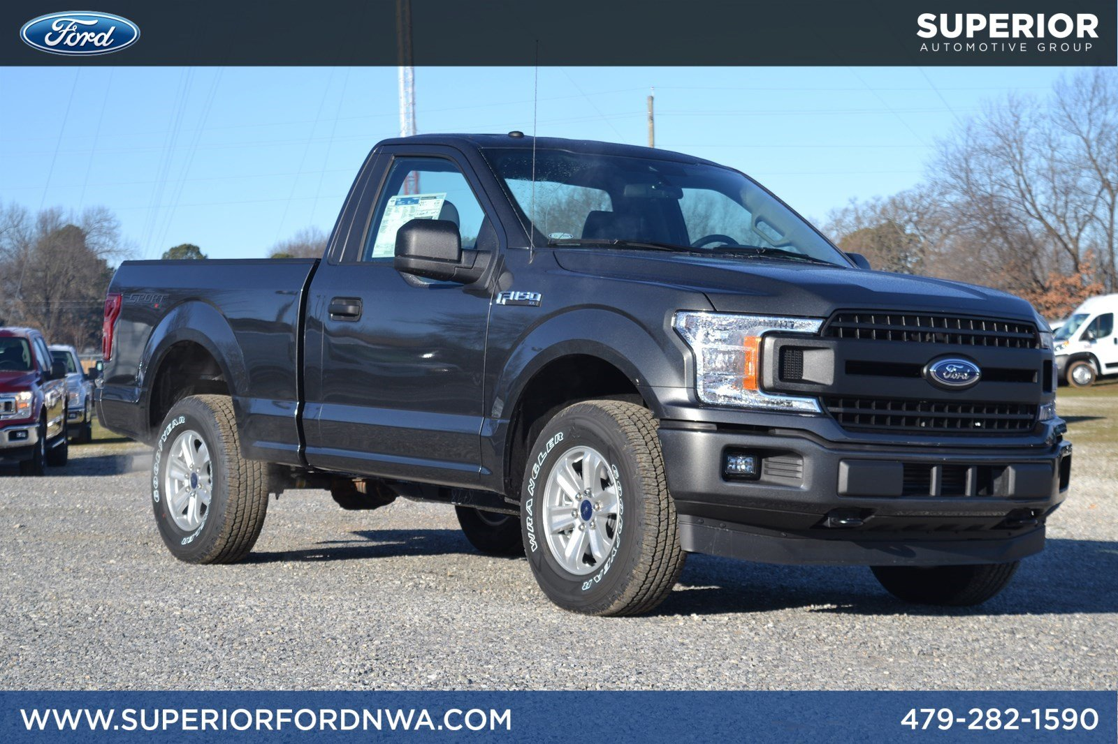 New 2019 Ford F-150 XL 4WD Regular Cab