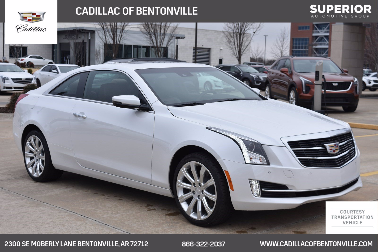 Cadillac Ats Coupe >> New 2019 Cadillac Ats Coupe Luxury Awd With Navigation Awd