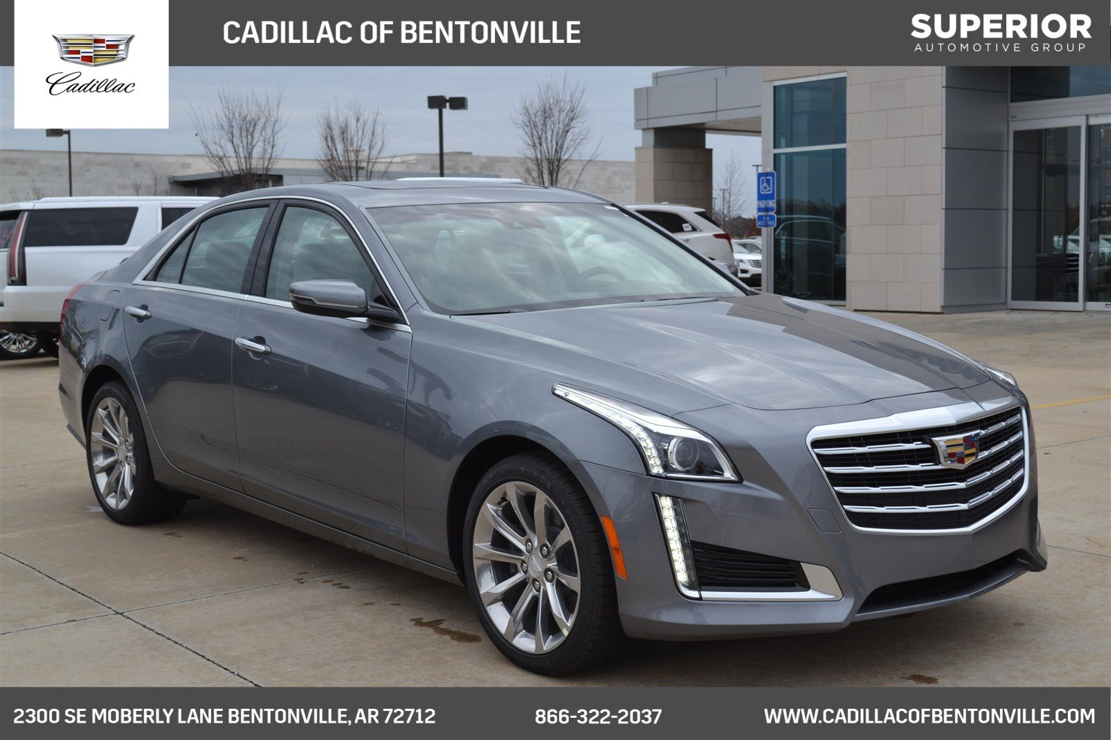 New 2018 Cadillac Cts Sedan Luxury Awd 4dr Car In Fayetteville