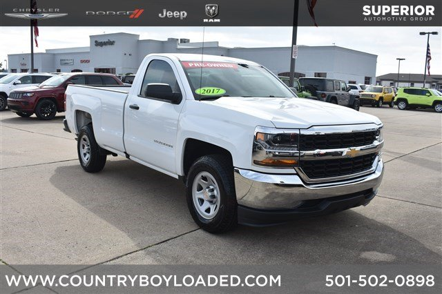 Pre Owned 2017 Chevrolet Silverado 1500 Work Truck