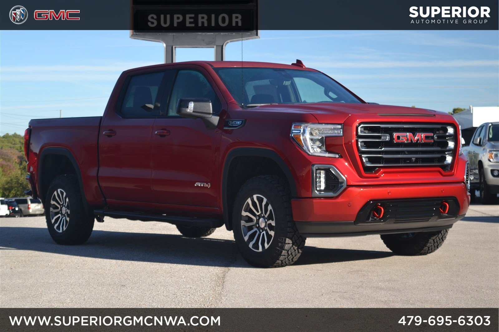 New 2019 Gmc Sierra 1500 At4 Crew Cab Pickup In Fayetteville Dual Battery Kit