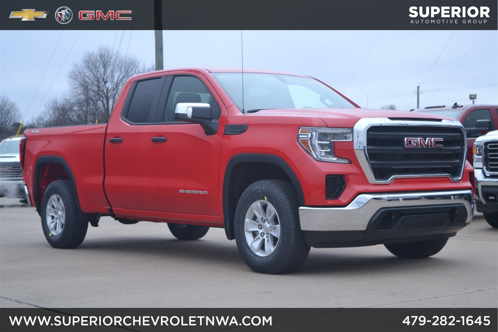 New 2019 Gmc Sierra 1500 4wd Double Cab Extended Cab Pickup In