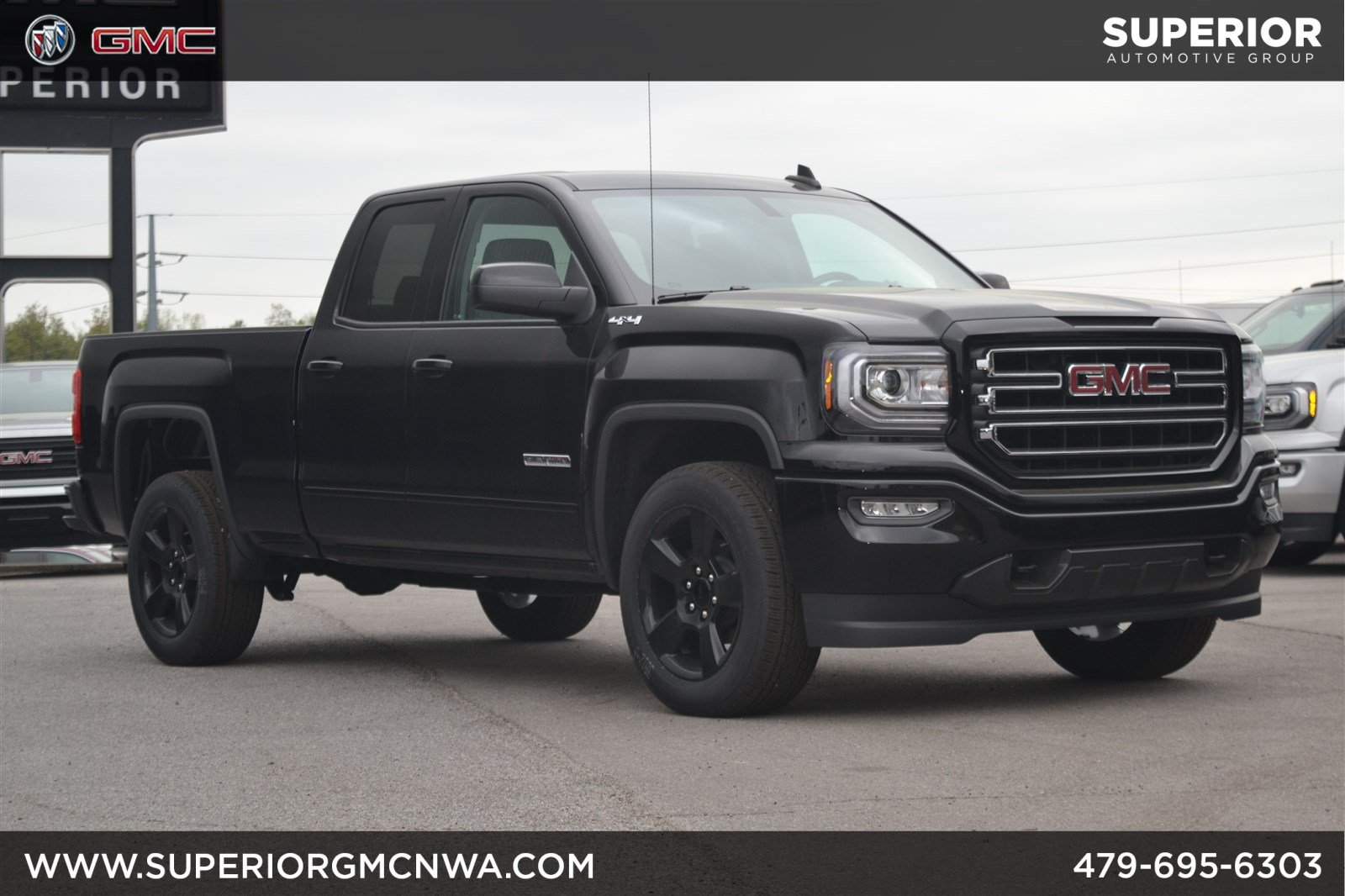 New 2018 GMC Sierra 1500 Elevation 4WD Crew Cab