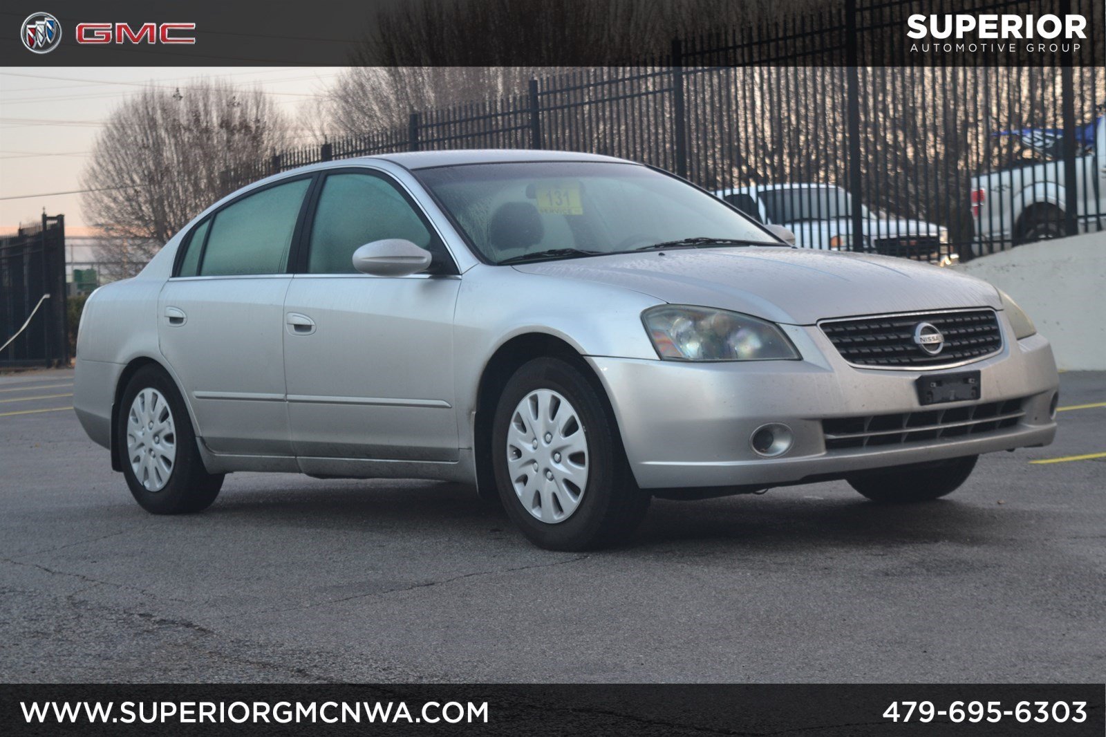 pre-owned 2005 nissan altima 2.5 s 4dr car in fayetteville #gi2441a