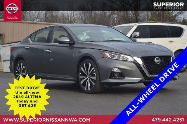 New 2019 Nissan Altima 2.5 Platinum AWD