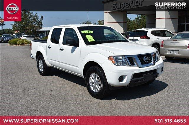 Superior Nissan Conway >> Pre Owned 2016 Nissan Frontier Sv 4wd