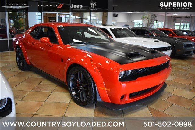 New 2019 Dodge Challenger SRT Hellcat Redeye With Navigation