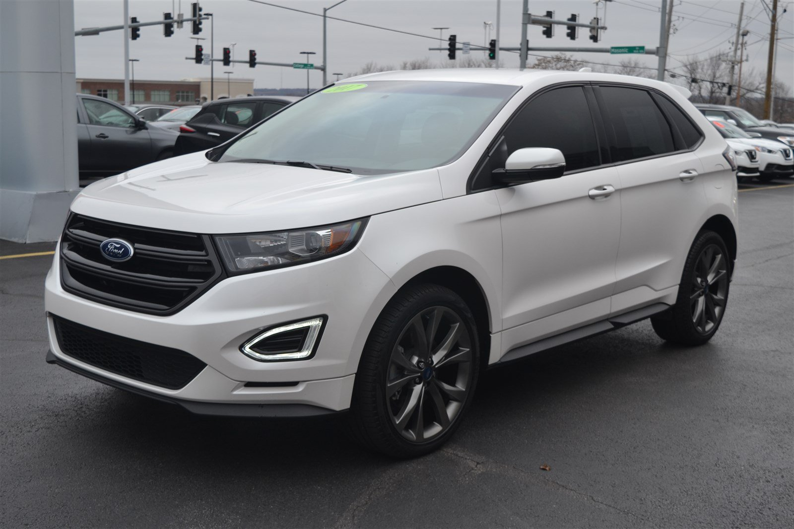 Pre owned 2017 ford edge sport awd