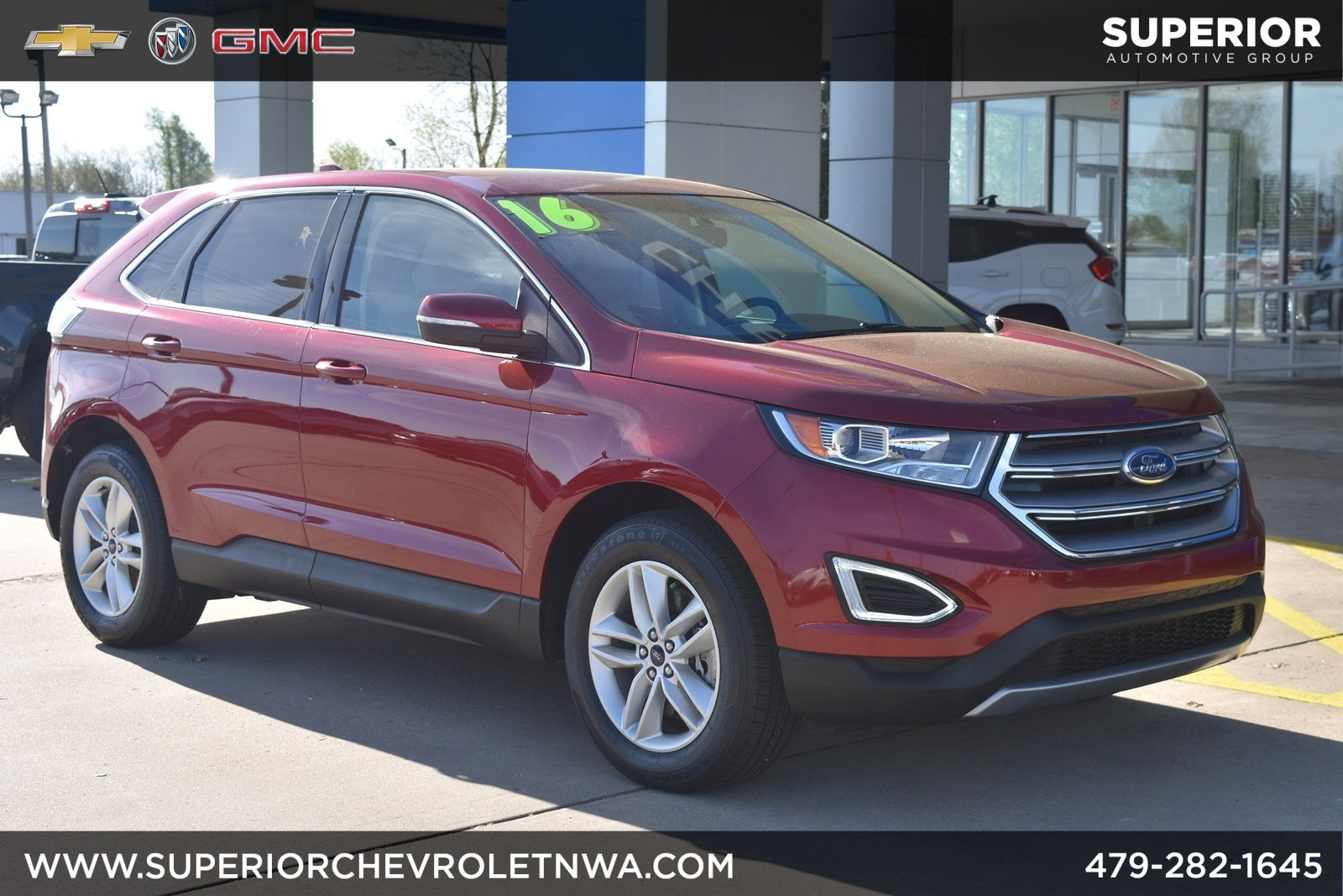 Pre Owned 2016 Ford Edge Sel Awd