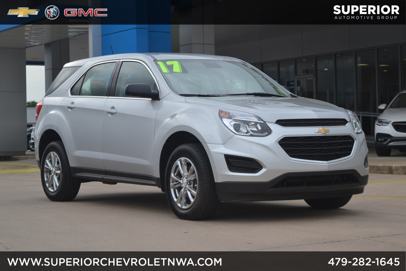 Pre Owned 2017 Chevrolet Equinox Ls