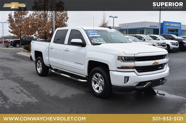Certified Pre Owned 2017 Chevrolet Silverado 1500 Lt Crew Cab Pickup