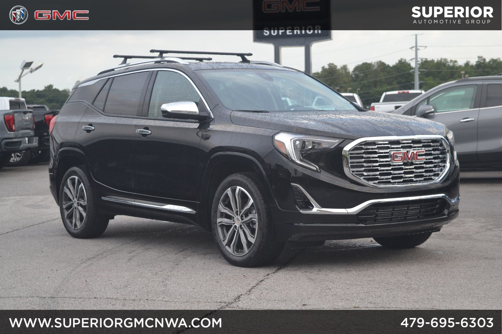 Gmc Terrain Denali >> New 2020 Gmc Terrain Denali Awd With Navigation Awd