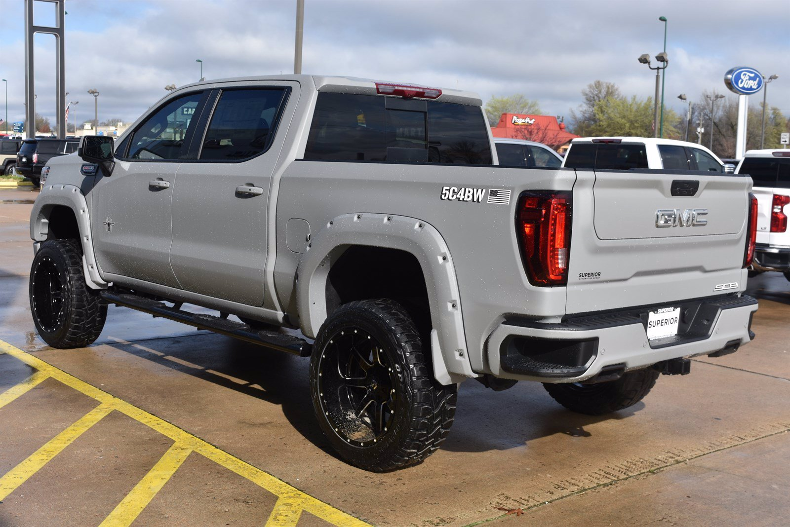 New 2020 Gmc Sierra 1500 Black Widow At4 4wd Crew Cab Crew Cab