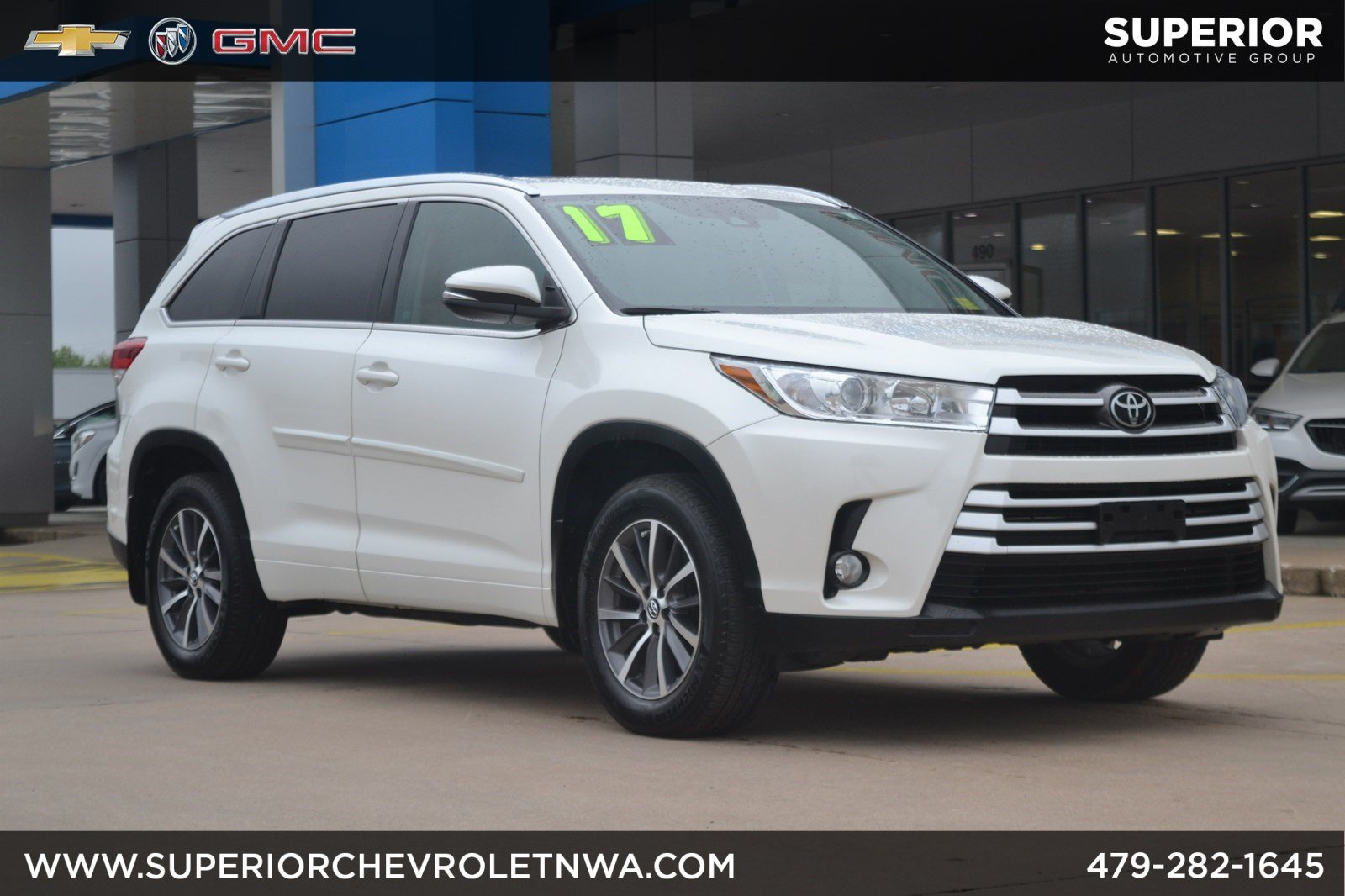 Pre Owned 2017 Toyota Highlander Xle Awd