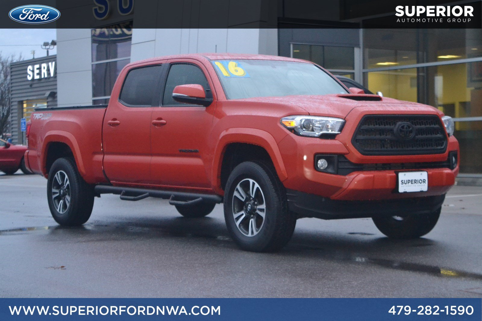 Pre Owned 2016 Toyota Tacoma Trd Sport 4wd