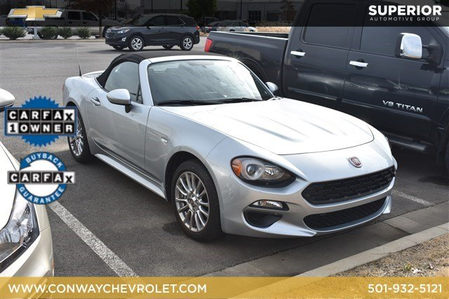 pre-owned 2018 fiat 124 spider classica convertible in fayetteville
