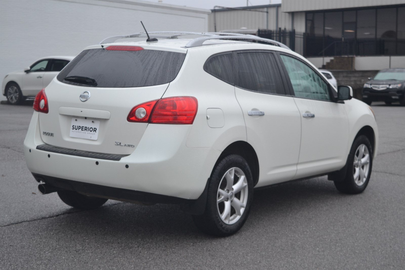 pre-owned 2010 nissan rogue sl awd sport utility in fayetteville