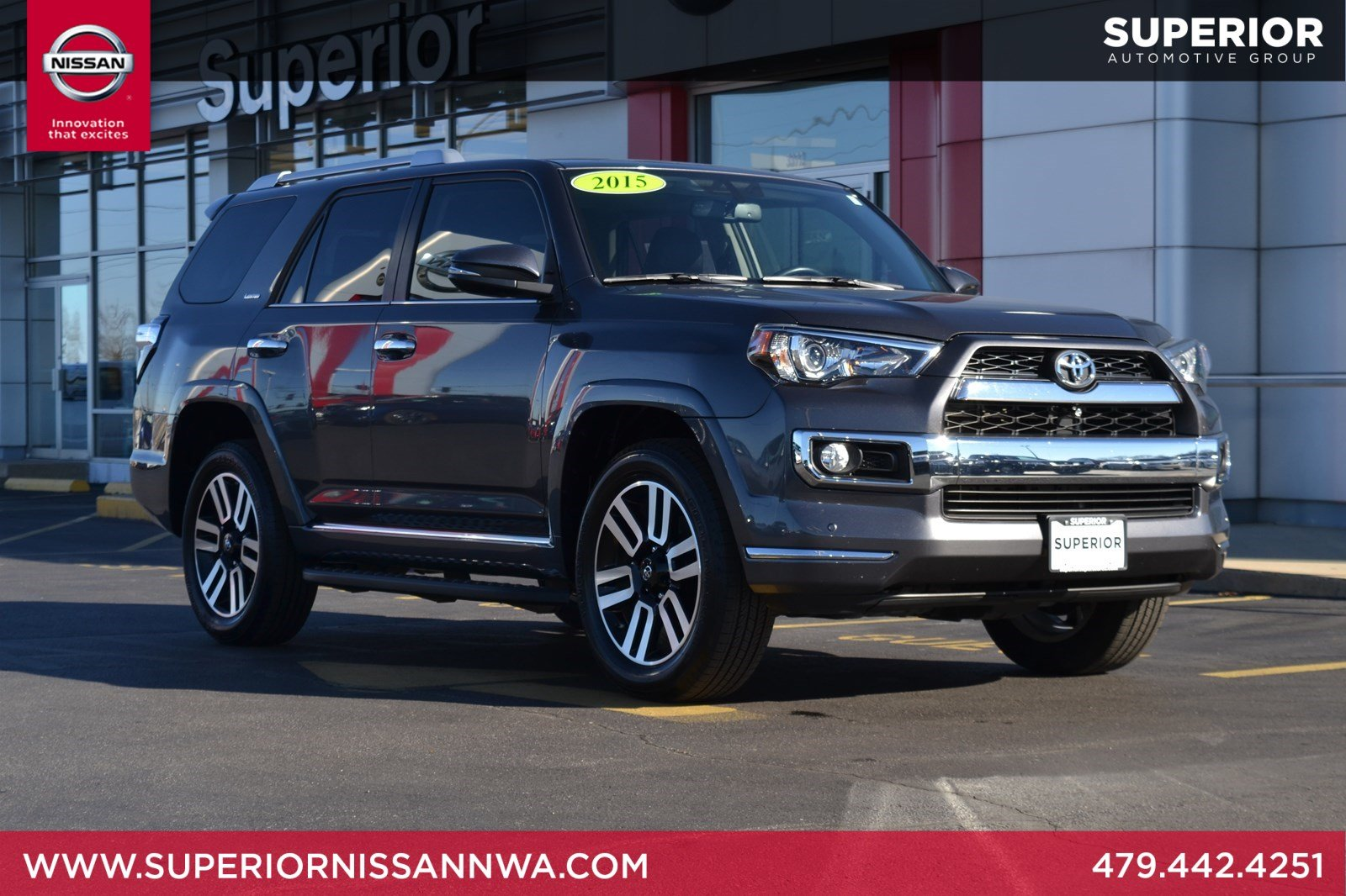 pre-owned 2015 toyota 4runner limited 4wd sport utility in