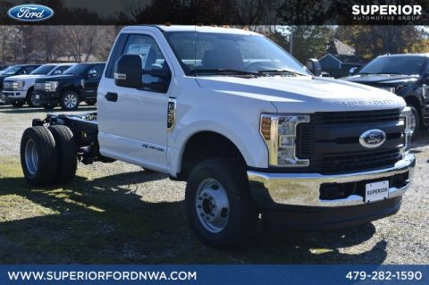 New 2019 Ford Super Duty F-350 DRW XL 4WD Regular Cab Chassis-Cab