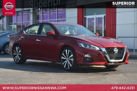 Certified Pre-Owned 2019 Nissan Altima Platinum