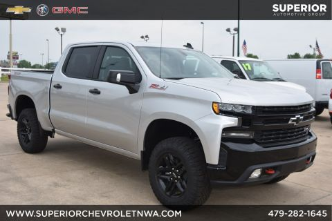 New 2019 Chevrolet Silverado 1500 LT Trail Boss 4WD Crew Cab