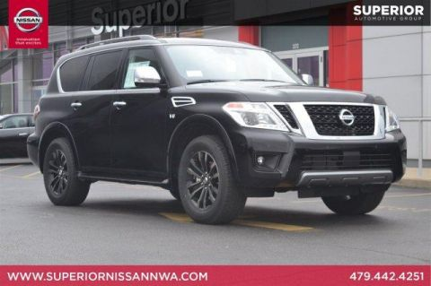 New 2019 Nissan Armada Platinum AWD